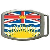 British Columbia Flag Kids Belt Buckle