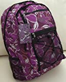 51mrBA pcLL. SL160 Large Backpack Purple School or Sport bag Floral print travel cabin or hand luggage Reviews