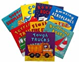 Tony Mitton Amazing Machines - 9 book pack (Tough Trucks / Brilliant Boats / Flashing Fire Engines / Terrific Trains / Amazing Aeroplanes / Roaring Rockets / Cool Cars / Tremendous Tractors / Super Submarines rrp £44.91)