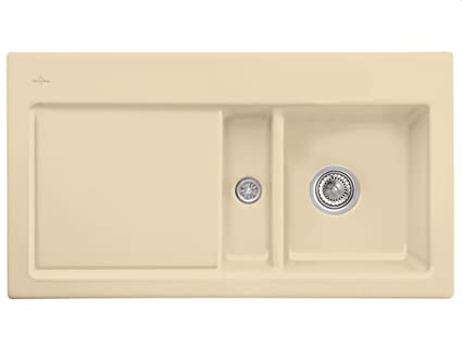 Villeroy Boch Subway 50 &Sand Beige Built Sink Ceramic Sink