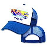 Kid's Toddler Hawaii Sunset Mesh Trucker Hat Cap