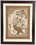 Orison Sand Art Photo Frame (Acrylic Board, 35.56 cm x 2.54 cm x 45.72 cm) Lord Ganesha