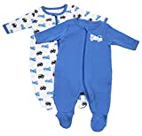 NAME IT Baby-Jungen Schlafstrampler Nitnightsuit Zip W