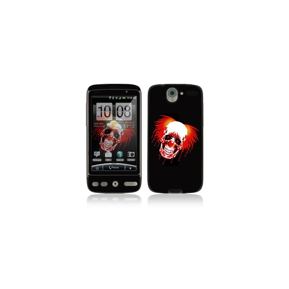 Killa Klown Protective Skin Cover Decal Sticker for HTC Desire Cell Phone