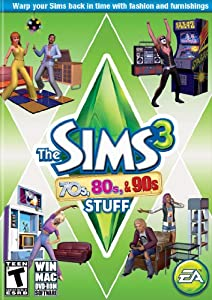 The Sims 3 70's, 80's and 90's Stuff [Download]
