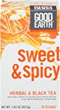 Good Earth Sweet & Spicy, 18 Tea Bags (Pack of 6)