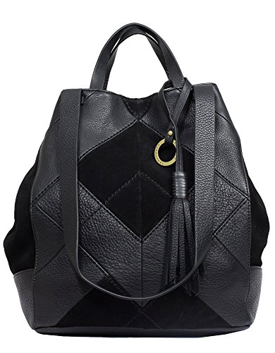 sanctuary-black-modern-patchwork-leather-tote