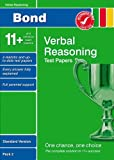 Frances Down Bond 11+ Test Papers Verbal Reasoning Standard Version Pack 2
