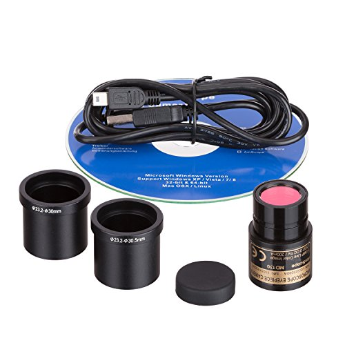 13-MP-USB-Still-Live-Video-Microscope-Imager-Digital-Camera-Calibration-Kit