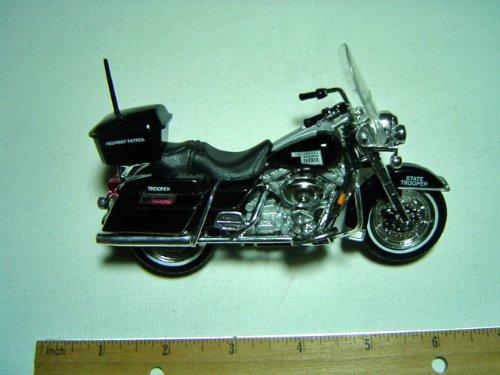 Harley-Davidson 1998 FLHT Electra Glide Oklahoma Police 1:18 Series 10 - 1