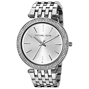 Michael Kors Women's MK3190 Darci Analog Display Analog Quartz Silver Watch