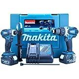 Makita DLX2005 18V Cordless Li-Ion Kit with 2 x 3Ah Batteries (2 Pieces)