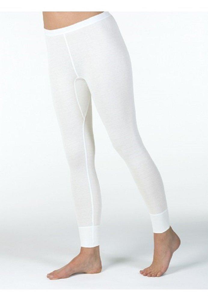 Medima Lingerie Damen-Hose lang Kaschmir/Seide weiß – Größe XL günstig kaufen