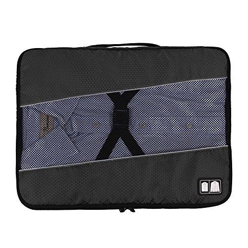 (バッグ・マート)Bags-mart ワイシャツケース シワ 型崩れ防止 Yシャツケース 折りたたみ板付き 出張 海外旅行グッズ 17インチ プレゼント ギフト
