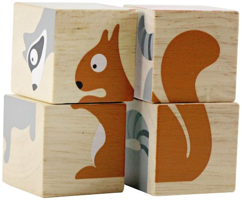 BeginAgain BuddyBlocks - Backyard Animals - 1