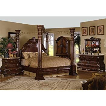 Inland Empire Furnitures Crown Post Eastern King Bedroom Set