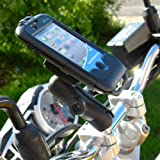 Motorcycle Handlebar Clamp Mount iPhone