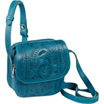 Ropin West Small Cross-body Bag (Turquoise)