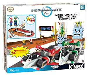 Nintendo Bowser's Castle: Mario and Luigi at the Starting Line Building Set, 248pc