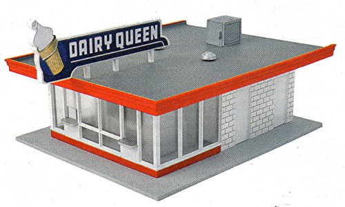 ho-scale-walthers-vintage-dairy-queen-building-kit-for-model-train-layout