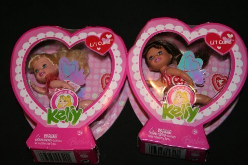 Barbie Kelly Valentine Doll Set - Kelly and Gia by Mattel - 1