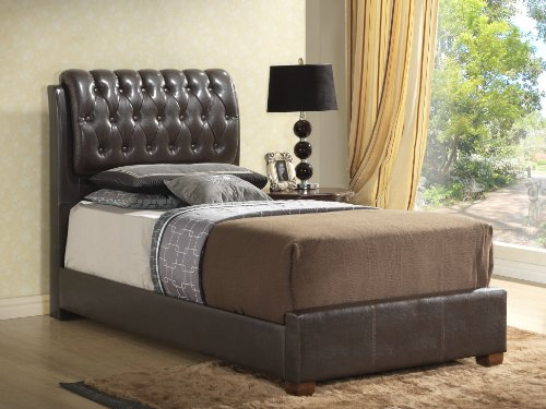 Upholstered Twin Beds 3336 front