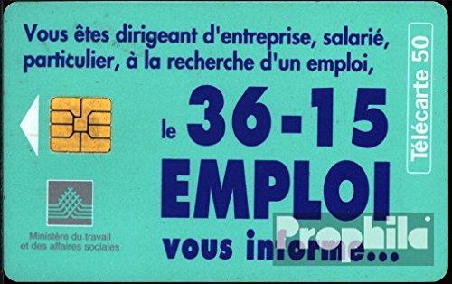 Frankreich 2750 50 Einheiten gebraucht 36-15 Emploi (Telefonkarten für Sammler)