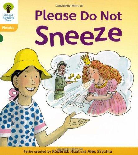 Oxford Reading Tree: Level 5: Floppy's Phonics Fiction: Please Do Not Sneeze