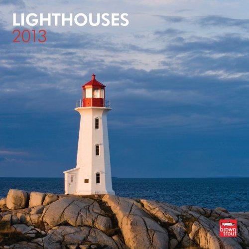 Lighthouses 2013 Square 12X12 Wall Calendar