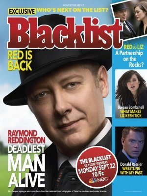 THE BLACKLIST - James Spader - US Imported TV Series Wall Poster Print - 30CM X 43CM