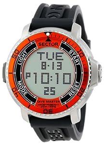 Sector R3251967001 - Reloj de pulsera hombre, caucho, color negro