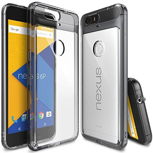 nexus-6p-case-ringke-fusion-smoke-black-shock-absorption-tpu-bumper-drop-protection-free-hd-screen-p