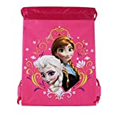 Officially Licensed Disney Drawstring Bag - Elsa and Anna