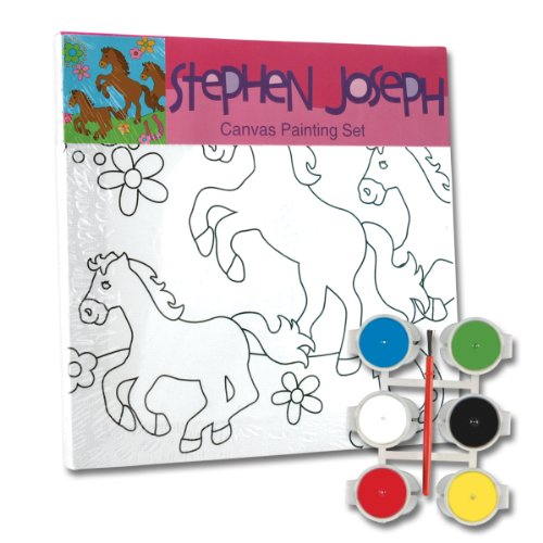 Stephen Joseph Horse Craft Canvas Set