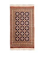 QURAMA Alfombra Kashmir Azul/Multicolor 162 x 88 cm