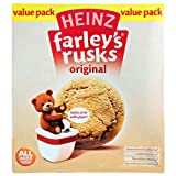Farleys Rusks 4 Month Original 18 Pack 120g