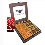 Chocholik Premium Gifts - Unique Combination Of Chocolates & Almonds With 3d Mobile Cover For IPhone 6 - Diwali...