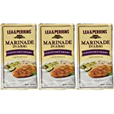 Lea & Perrins, Marinade in a Bag, Roasted Garlic Balsamic, 12oz Pouch (Pack of 3)