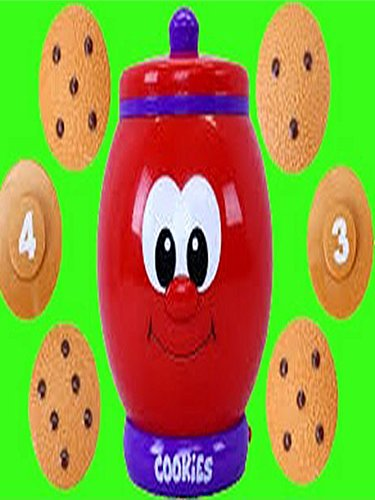 Count N Learn COOKIE JAR Surprise Toys Kitchen Learn to Count to 10 Family Kids Toy Video