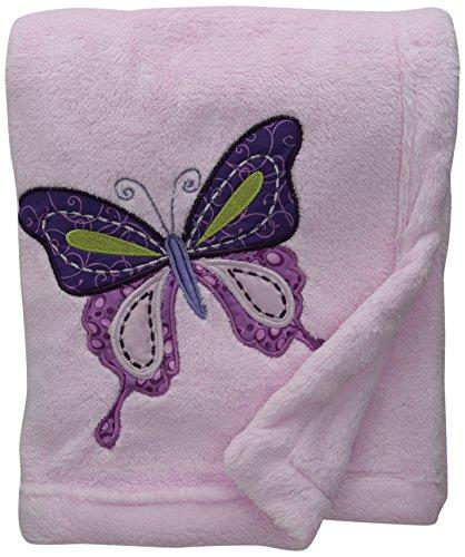 Lambs & Ivy Blanket, Butterfly Lane