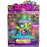 Zoobles Exclusive Triplet Playset Doelee #407 Mr. Crumb #408 Prancie #409