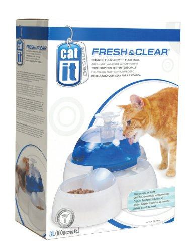Catit-Trinkbrunnen-Drinking-Fountain-fr-Katzen-und-kleine-Hunde