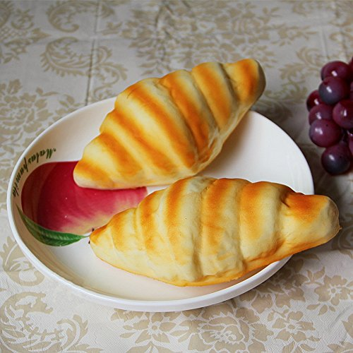 Gresorth 2 pcs pu material fake cake artificial sea snail for Artificial bread decoration