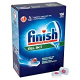 Finish Powerball All In One Mega Pack 100 Dishwasher Tablets
