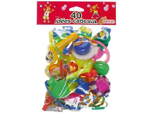 Kim'Play - Bolsa de 40 regalitos para fiestas infantiles