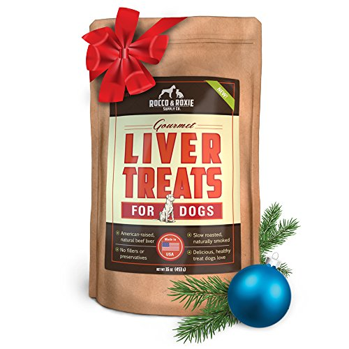 Rocco & Roxie Supply Liver Treats, Gourmel for Dogs, 16 Oz (Yogurt Drops For Rabbits compare prices)