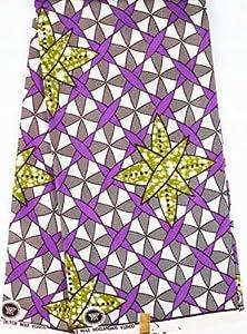 Amazon.com: Ankara Fabric- African Print Clothing Designs - Super