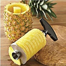 VALAMJI Stylish Stainless Steel Pineapple Cutter Corer & Fruit Cutter And Slicer