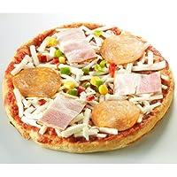 低糖工房 糖質89%オフ低糖質ホワイトミックスピザ 3枚入り 【3000円以上送料無料♪】【糖質制限中・ダイエット中の方に!】