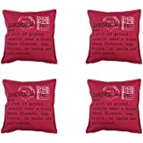 Cushion Cover / Pillow Cover - Buy 2 Get 2 Free - 100% Pure Cotton